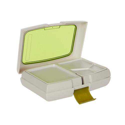 fuel bento lunch box green brand new ebay. Black Bedroom Furniture Sets. Home Design Ideas