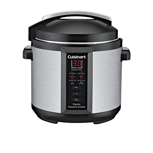 Pressure Cooker Brands: Cuisinart Electric 6L Pressure Cooker Plus Brand New