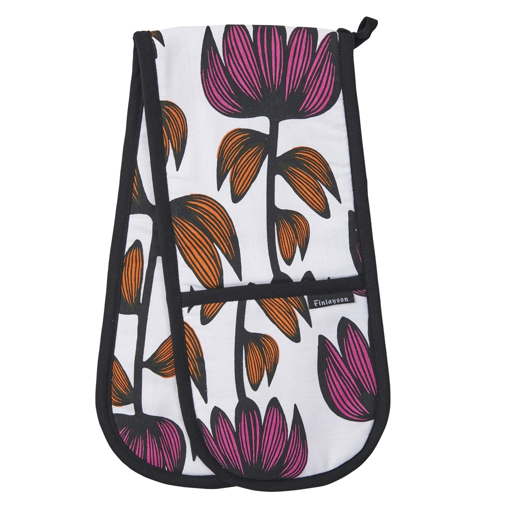 Finlayson Alma Double Oven Glove Multi-colour