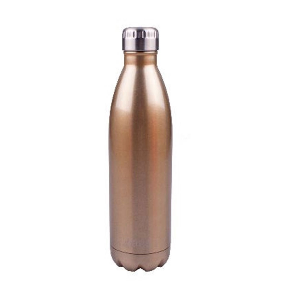D.Line Oasis 750ml Insulated Drink Bottle Stainless Steel Champagne