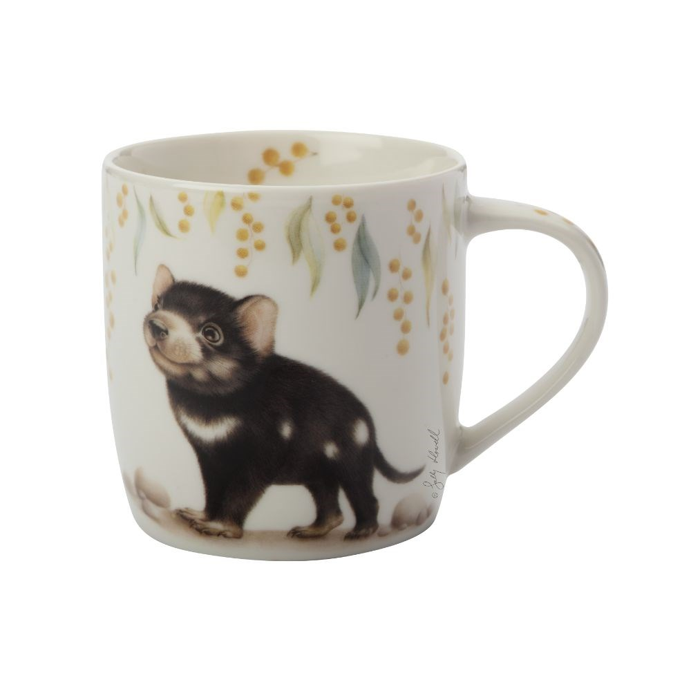 Maxwell & Wililams Sally Howell Tasmanian Devil Mug with Tin Gift Box 340ml