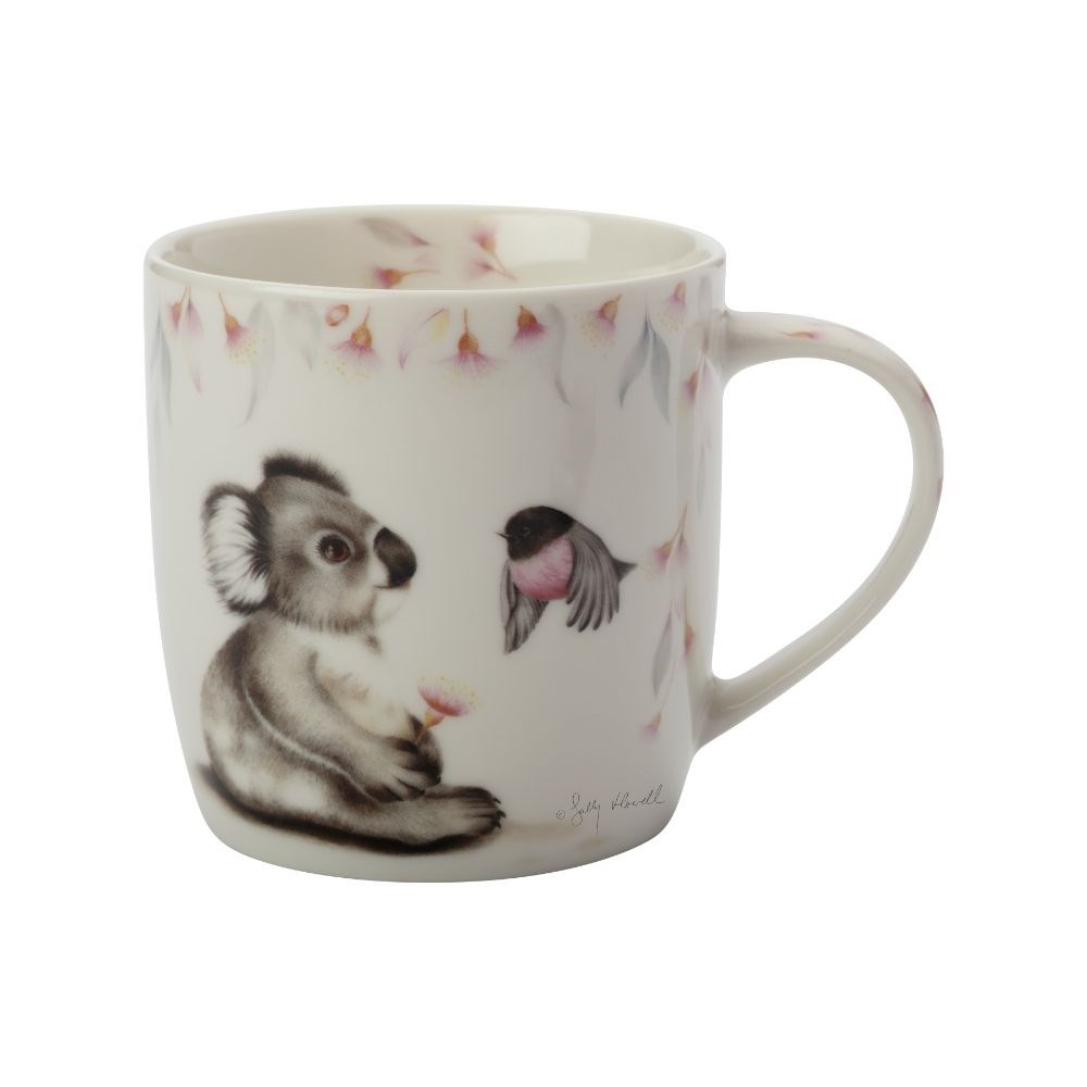 Maxwell & Wililams Sally Howell Koala & Robin Mug with Tin Gift Box 340ml