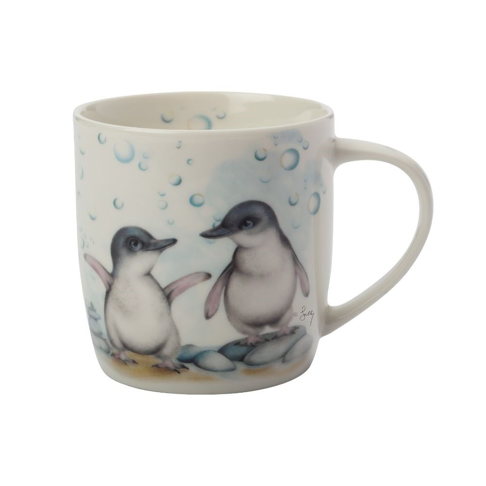 Maxwell & Wililams Sally Howell Penguins Mug with Tin Gift Box 340ml