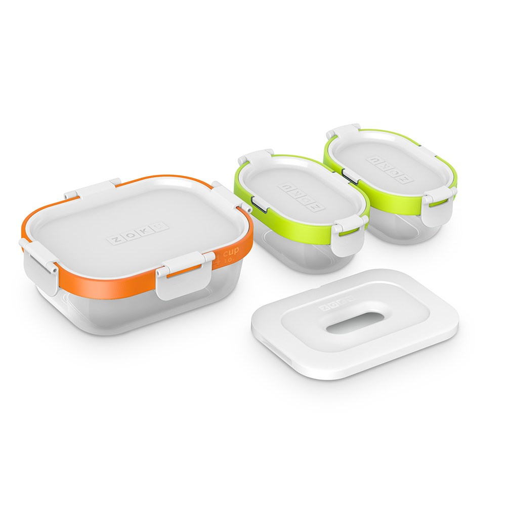 Zoku Neat Stack 7-Piece Food Containers Set