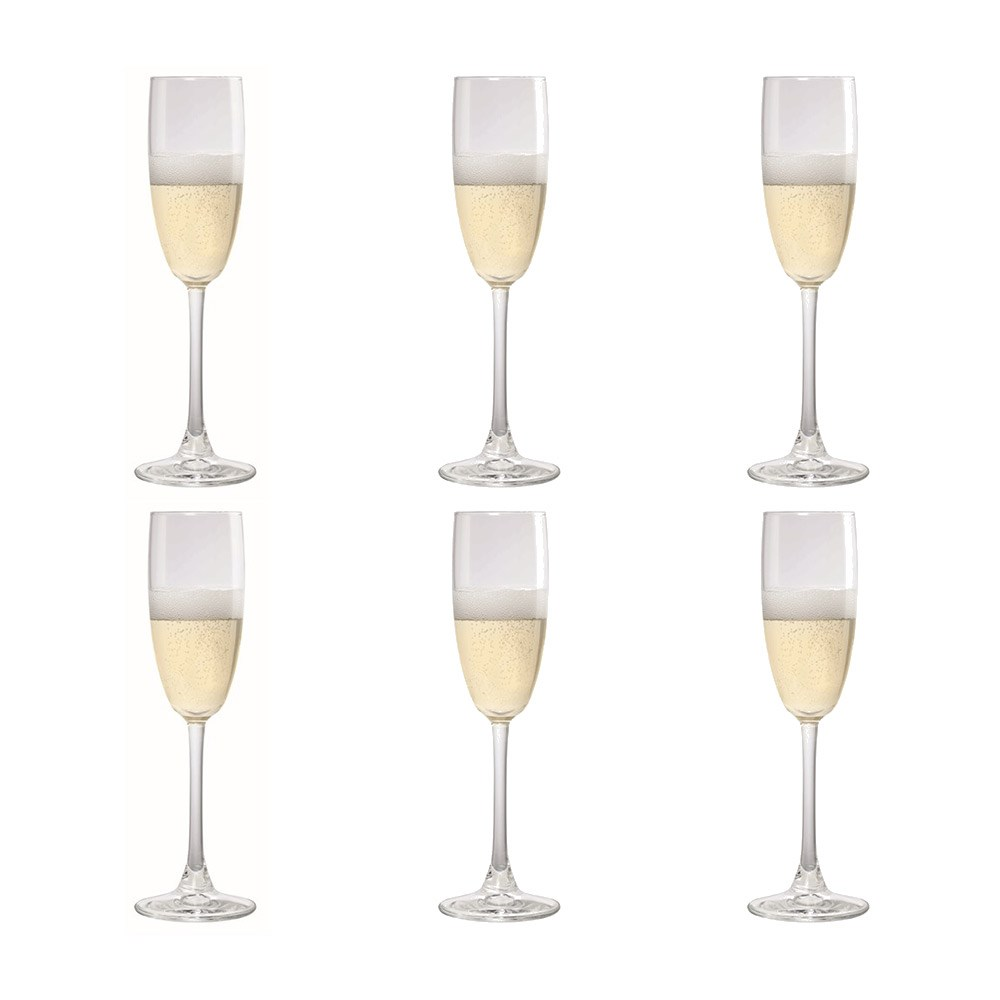 Cellar Tonic 170ml Flute Glass x 6