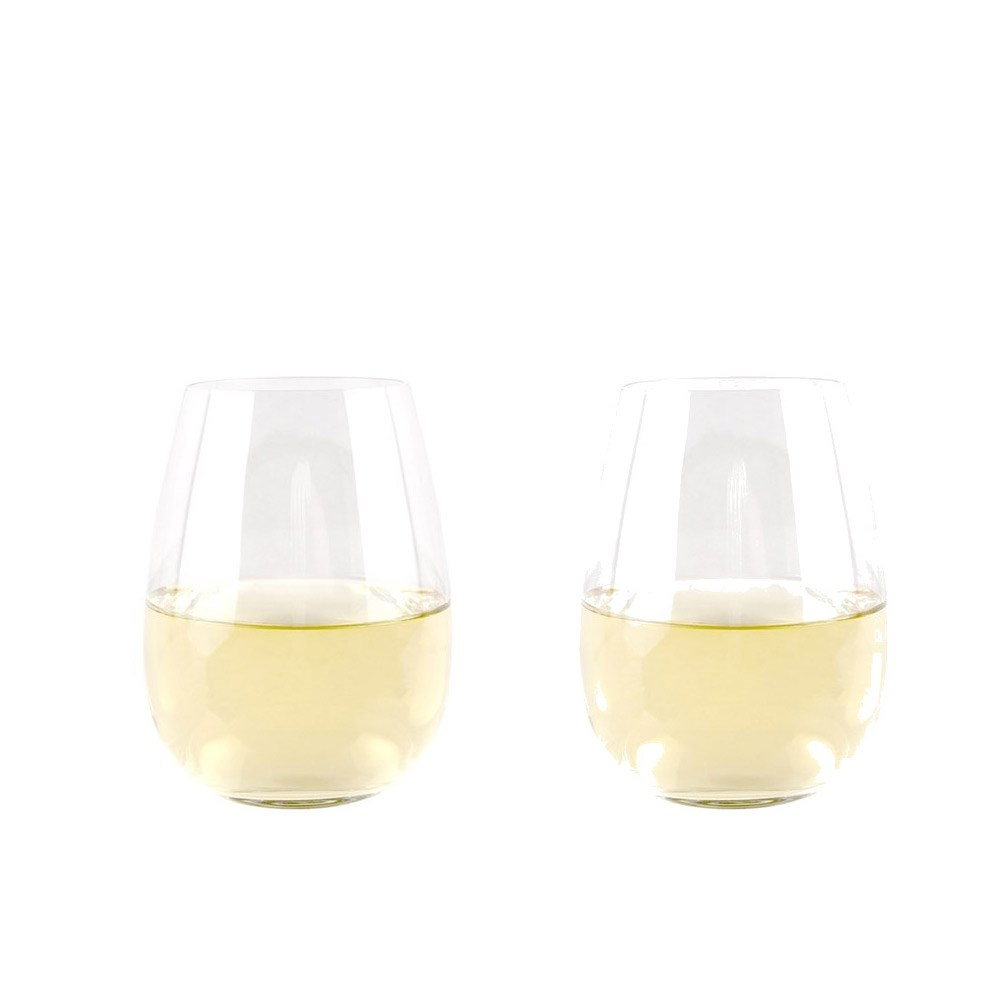 Cellar Premium 550ml Set of 2 Stemless Wine Glass
