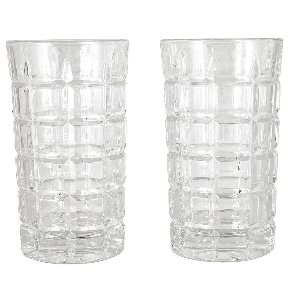 Cellar Premium Luxe Crystal Glass 2-Piece Whisky Highball Glass Set 310ml