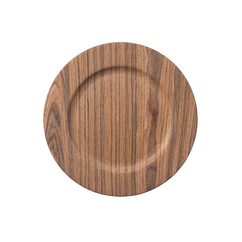 Ambrosia Dark Timber Charger Plate 33cm Set of 4
