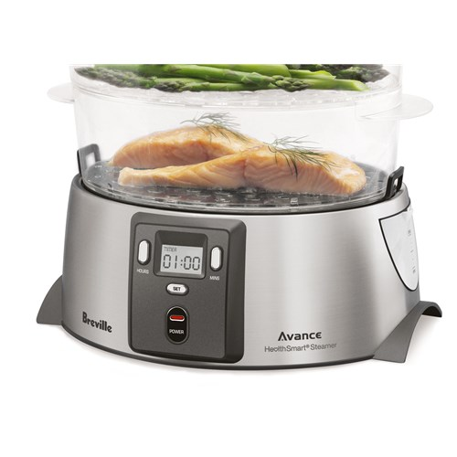 Breville Avance HealthSmart Food Steamer with 3 Tiers
