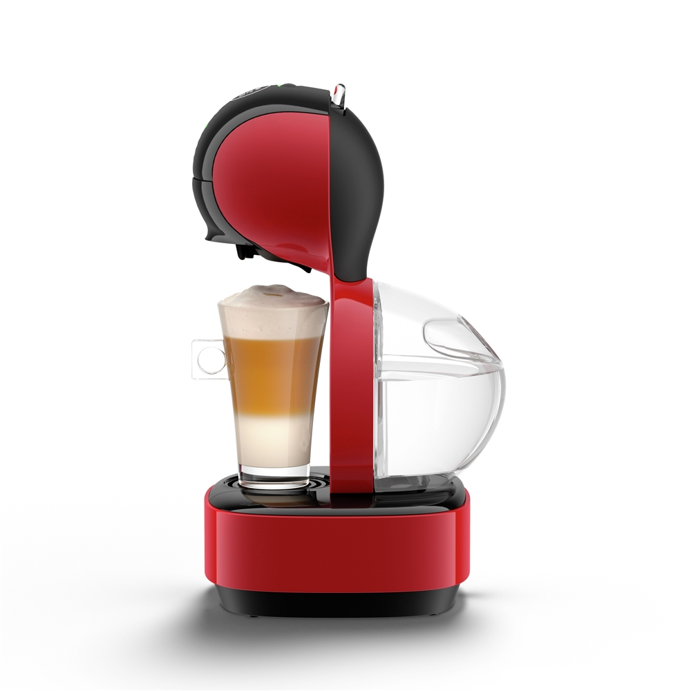 Breville Nescafe Dolce Gusto Lumio Coffee Machine Red