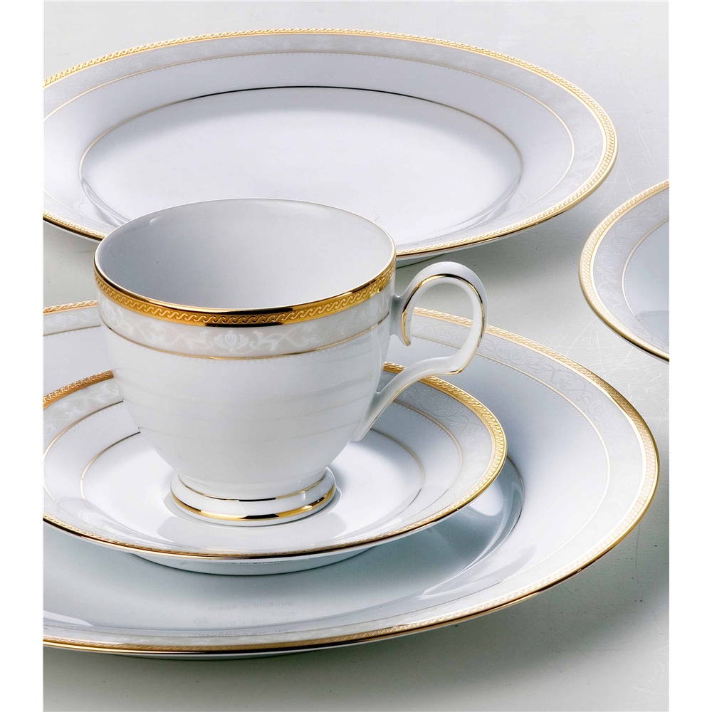 Noritake Hampshire Gold Dinner Plate
