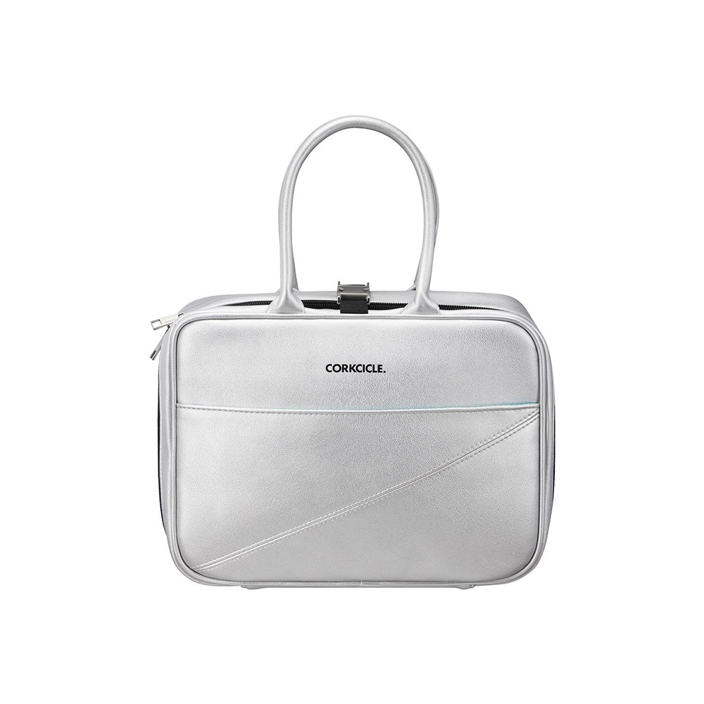 Corkcicle Baldwin Boxer Lunch Bag Silver