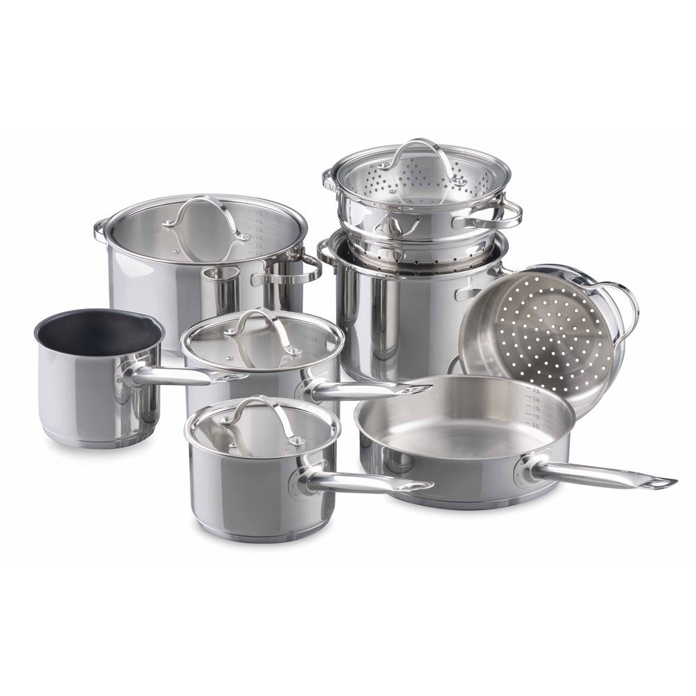 Baccarat Signature 9 Piece Stainless Steel Cookset