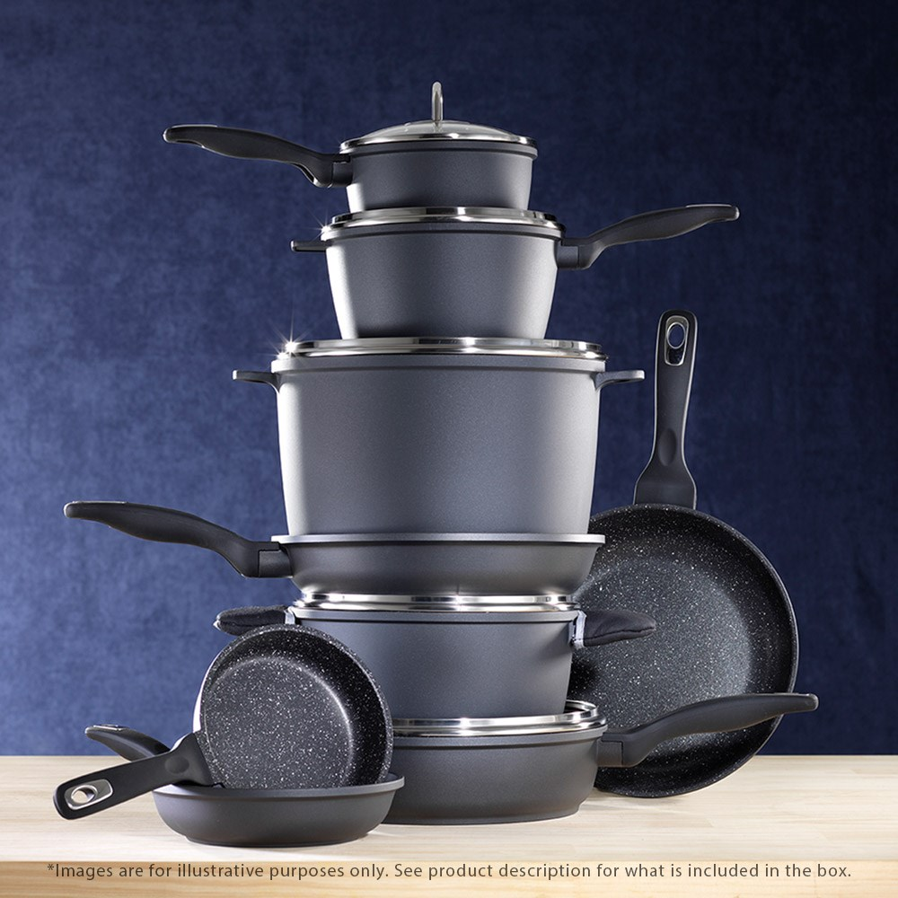 Baccarat Granite 4 Piece Cookware Set