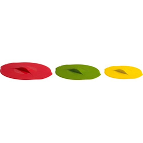 Trudeau Silicone Lids for Bowls Set of 3