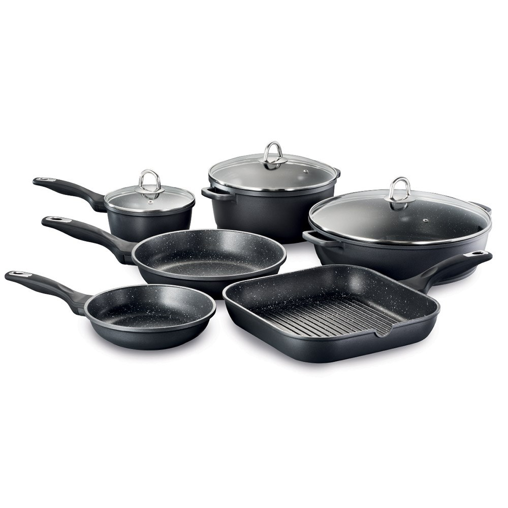 Baccarat Granite 6 Piece Cookset