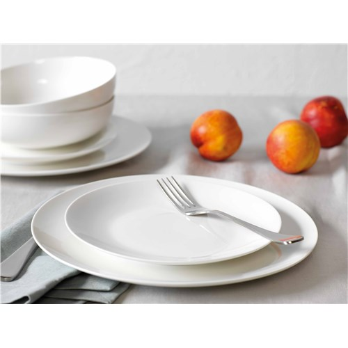 Alex Liddy Modern White Coupe 12 Piece Dinner Set
