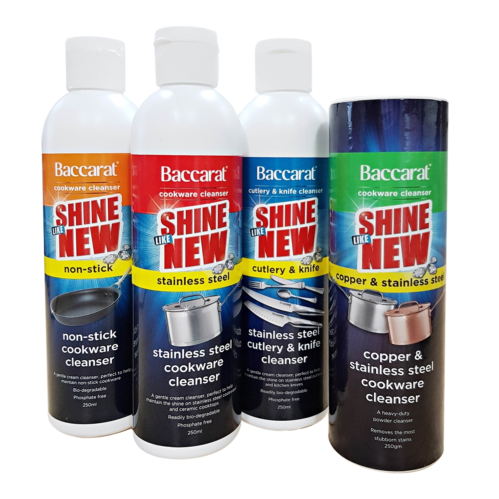Baccarat 250ml Cookware Cleaner Stainless Steel