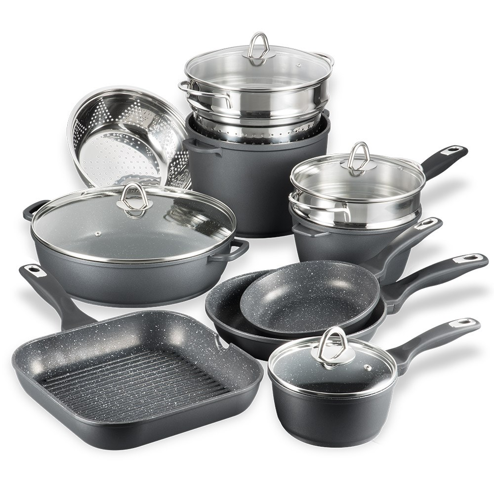 Baccarat Granite 10 Piece Cookware Set