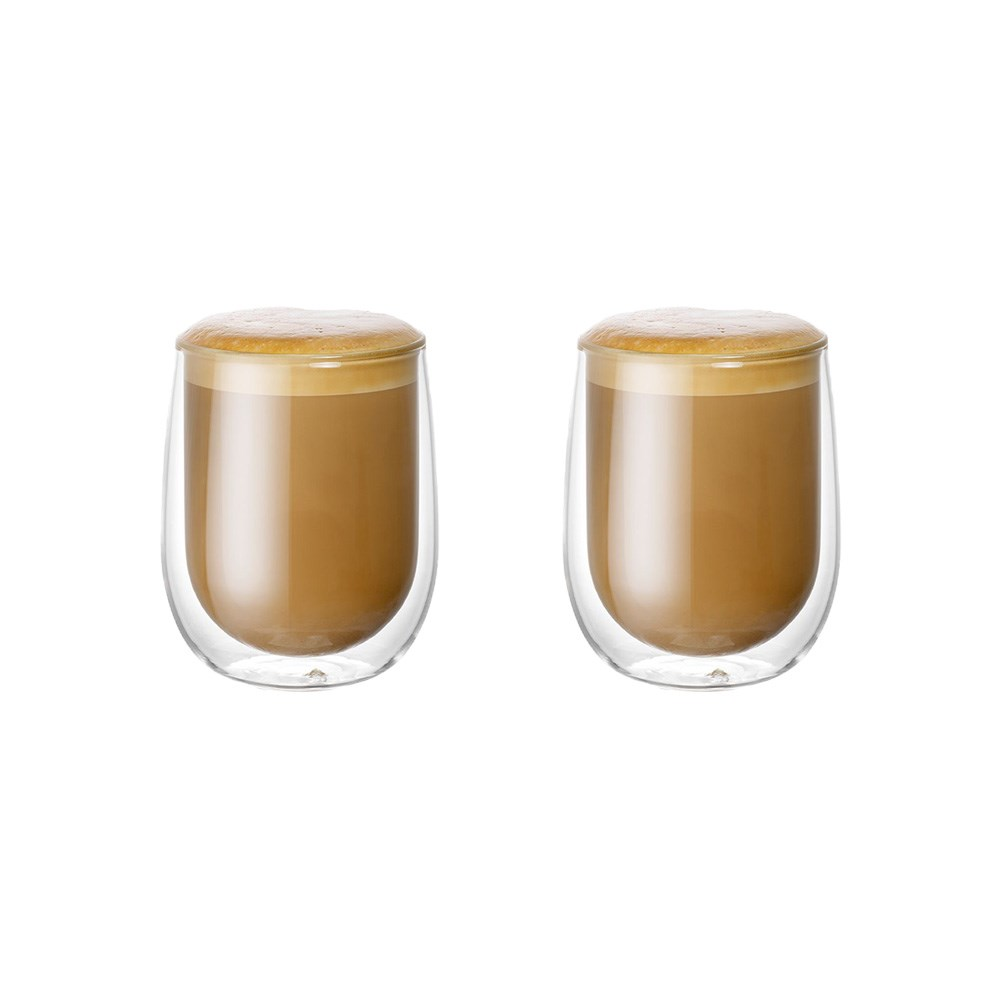 Baccarat Barista Café Double Wall Glass 250ml Set of 2