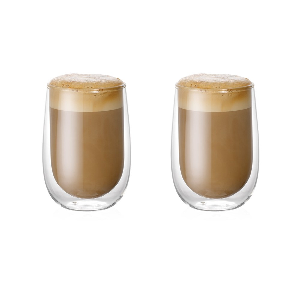 Baccarat Barista Café Double Wall Glass 350ml Set of 2