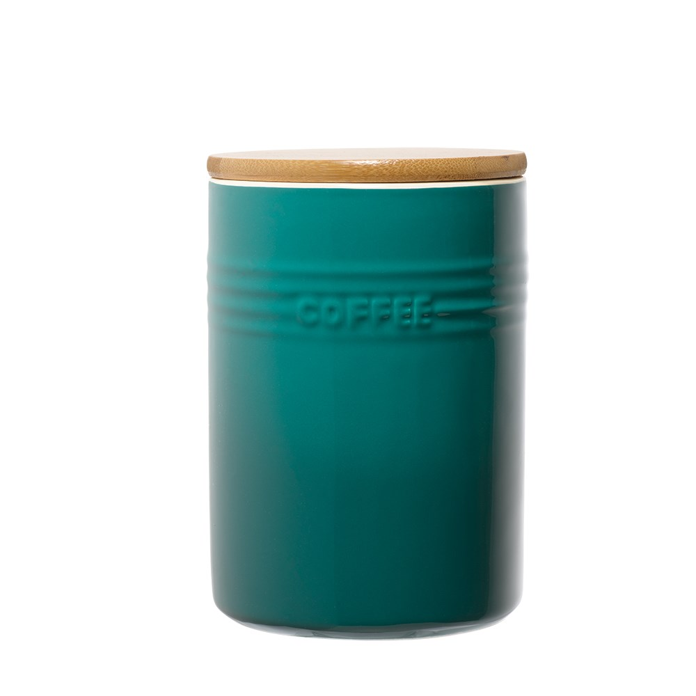 Baccarat Le Connoisseur Canister Set Of 3 Teal Canisters Robins Kitchen