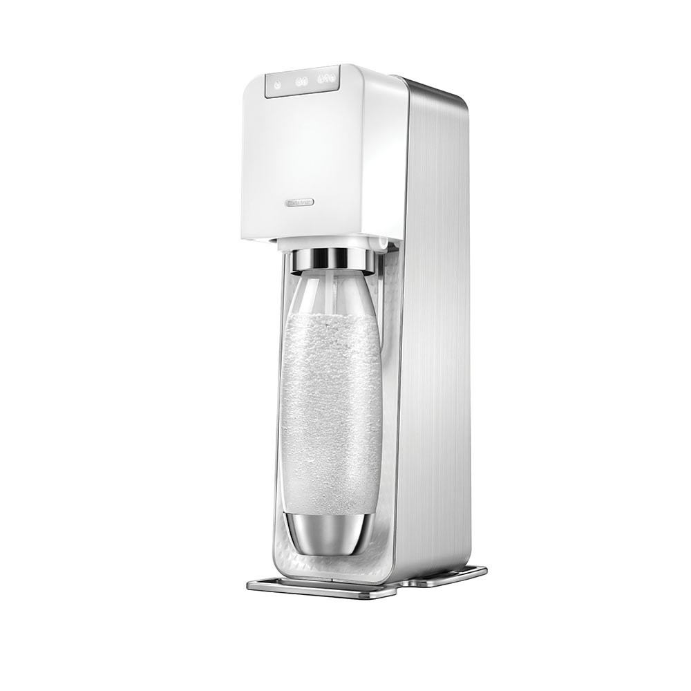 SodaStream Power White Sparkling Water Maker White