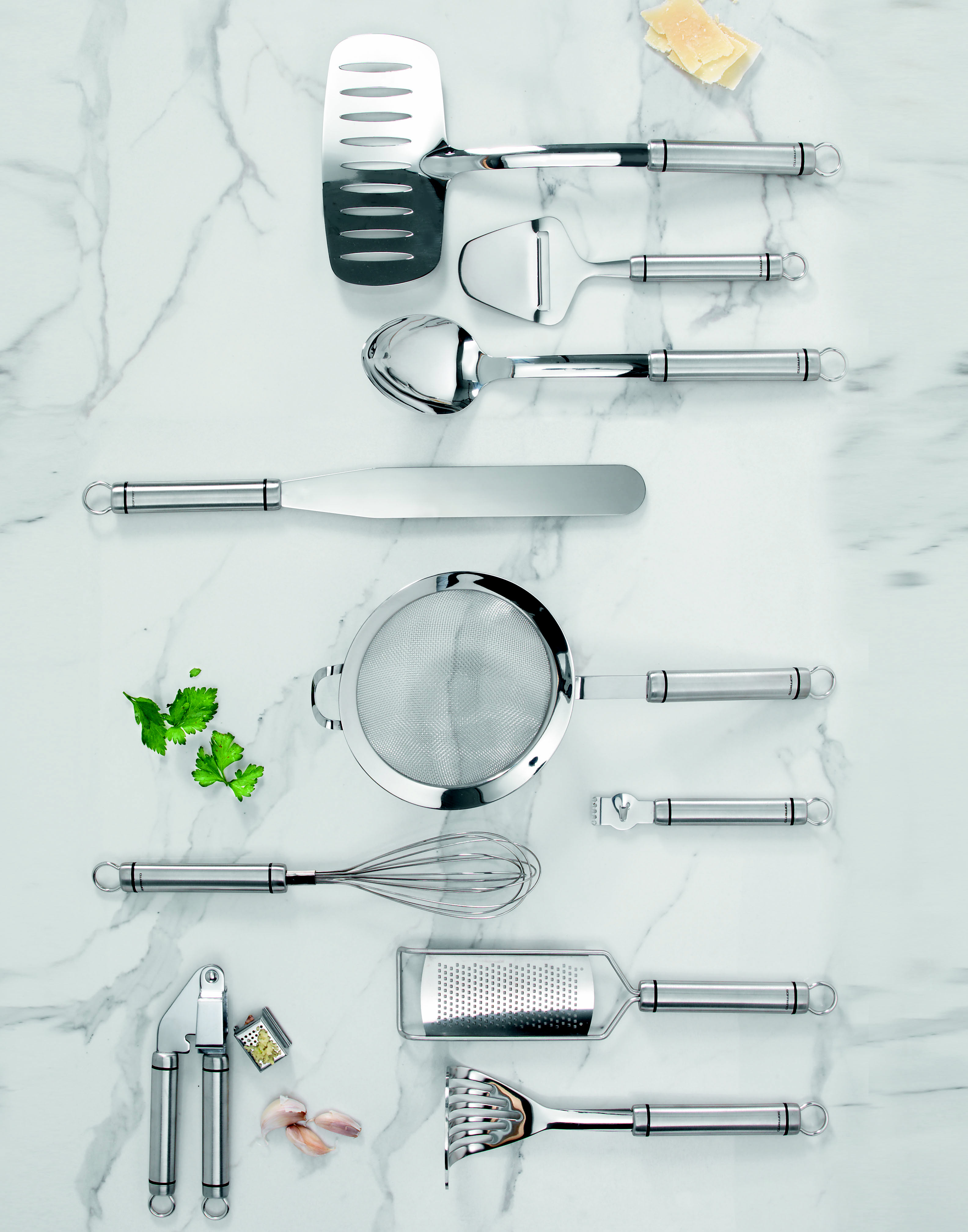 Soffritto A-Series Slotted Turner- Stainless Steel | Utensils ...