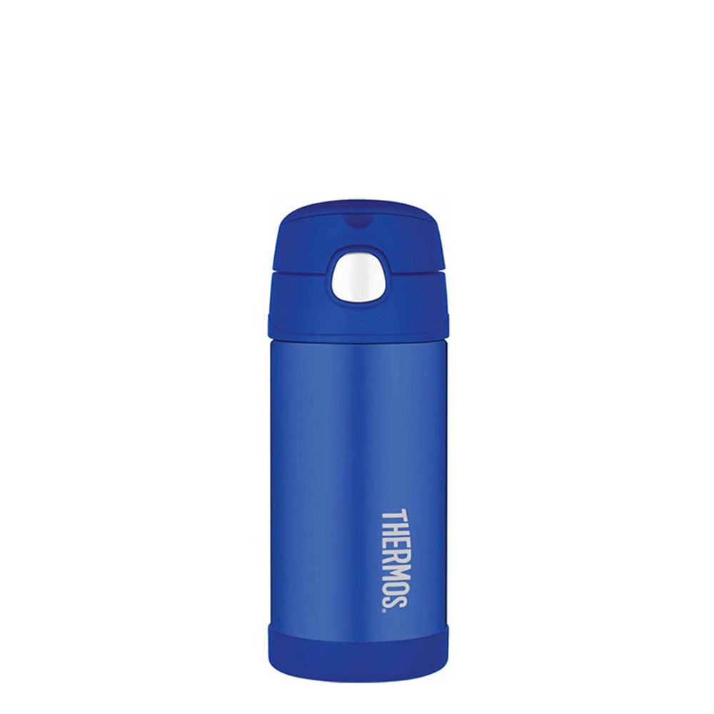 Thermos FUNtainer Stainless Steel 355ml Vacuum Insulated Drink Bottle Blue
