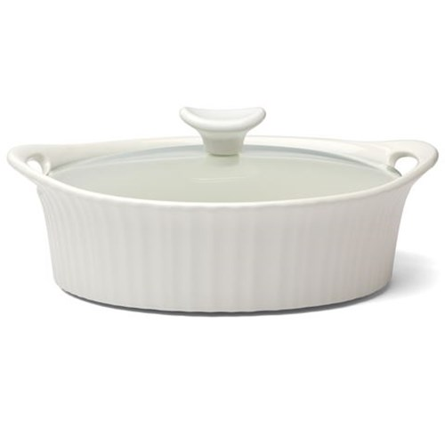 Corningware 1.4L Oval Casserole French White