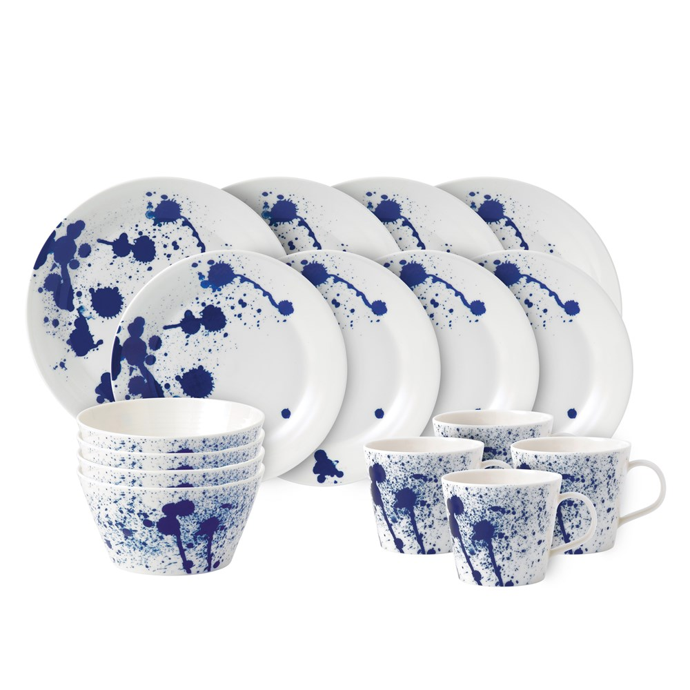 Royal Doulton Pacific Mint 16 Piece Dinner Set Splash