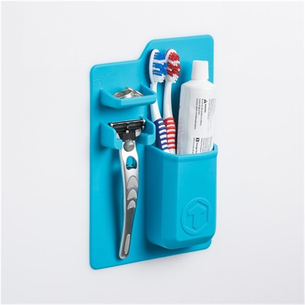 Tooletries The Mighty Toothbrush Holder Blue