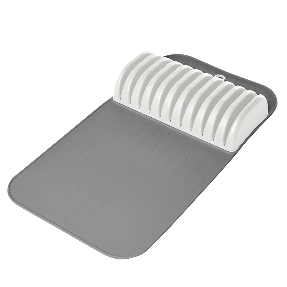 Madesmart in drawer knife mat knife storage robins kitchen for In drawer knife mat