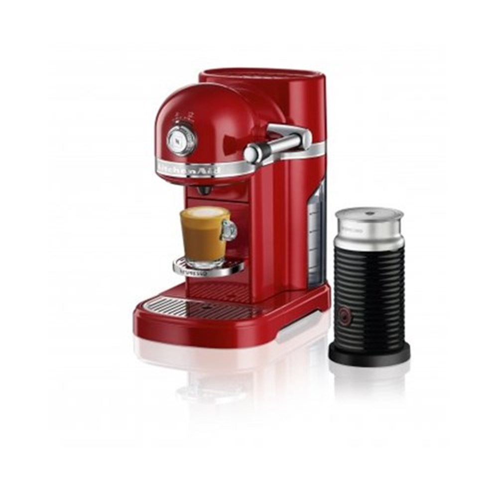 kitchenaid nespresso machine empire red coffee machines. Black Bedroom Furniture Sets. Home Design Ideas