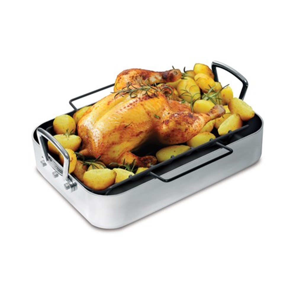 Baccarat 36cm x 26cm Professional Roaster with Rack