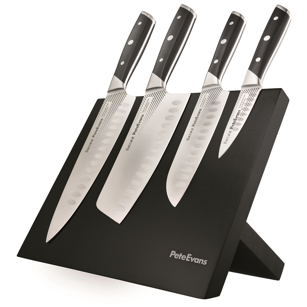 Baccarat Pete Evans 5 Piece Knife Block | Knife Blocks