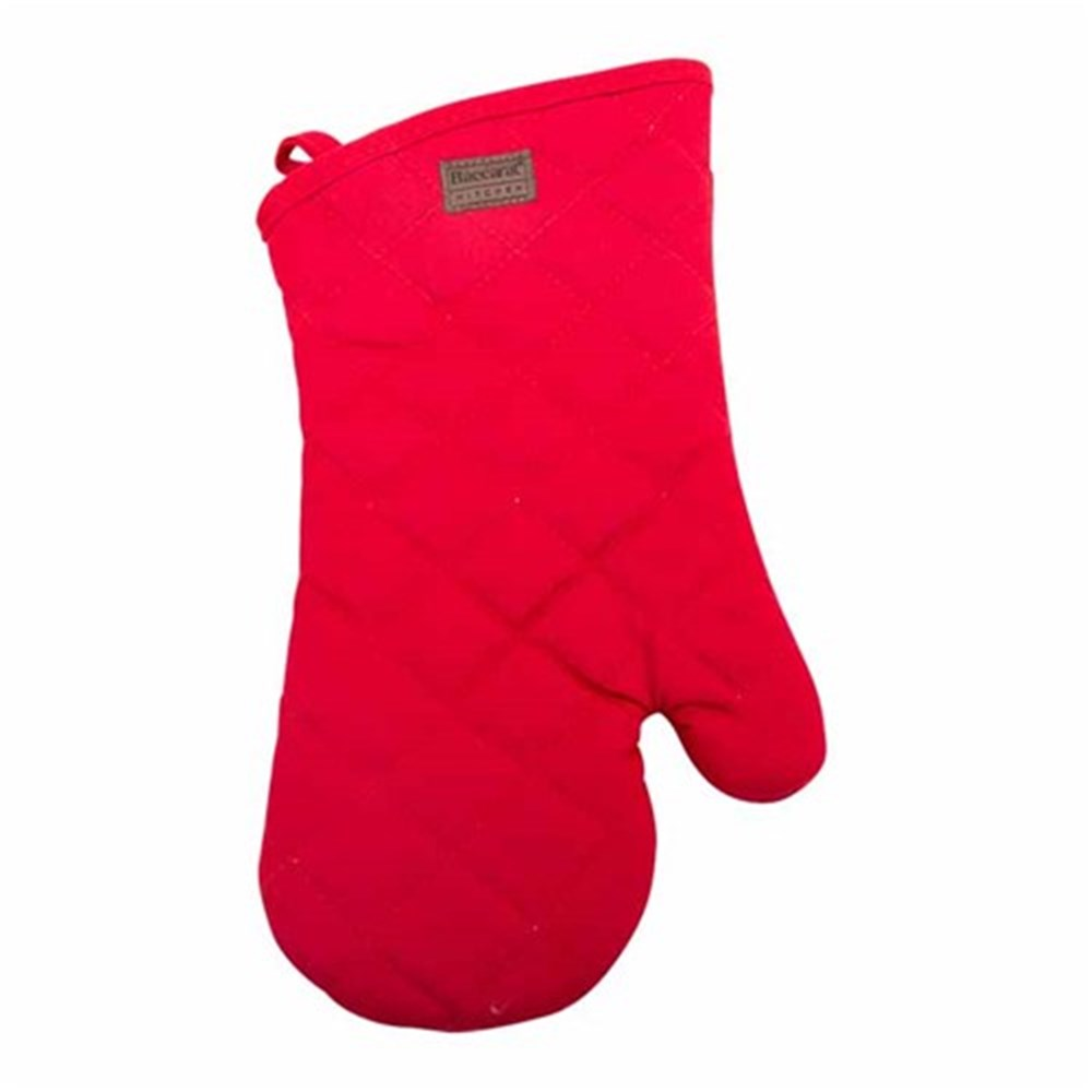 Baccarat kitchen oven glove red oven mitts trivets robins kitchen - Kitchenaid oven gloves ...