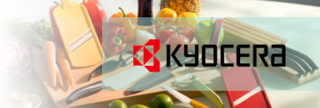 ... Your Hands Will Not Tire Or Cramp When You Use Kyocera Knives. Kyocera  Offers A Lifetime Warranty, So Buying A Kyocera Knife Is Buying A Knife For  Life.