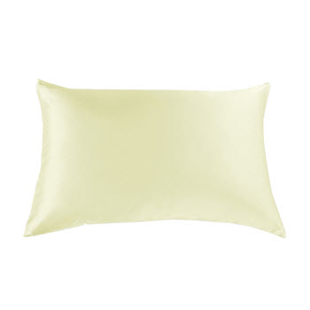 Royal Comfort Mulberry Silk Pillow Case Twin Pack Ivory
