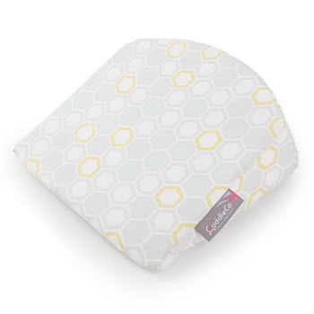 CuddleCo Comfi-Mum 3in1 Memory Foam Wedge Cushion Beehive