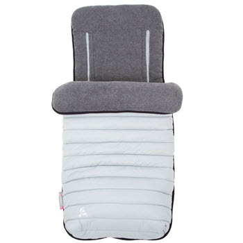 CuddleCo Comfi Snug 2 in 1 Footmuff and Liner Pewter