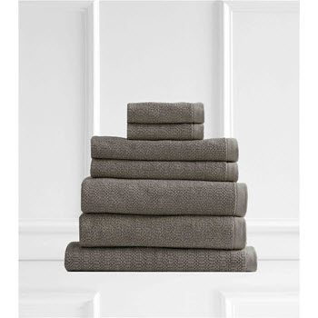 Style & Co Resort Egyptian Cotton 600 GSM Towel Set of 7 Latte