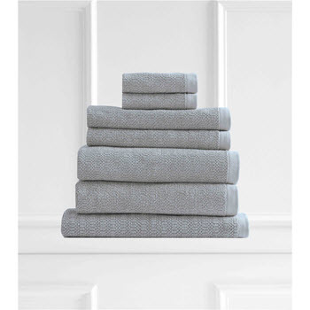 Style & Co Resort Egyptian Cotton 600 GSM Towel Set of 7 Mint