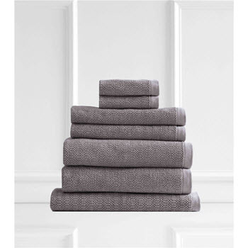 Style & Co Resort Egyptian Cotton 600 GSM Towel Set of 7 Cinnamon