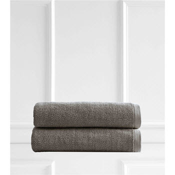 Style & Co Resort Egyptian Cotton 600 GSM 2 Pack Bath Sheets Latte