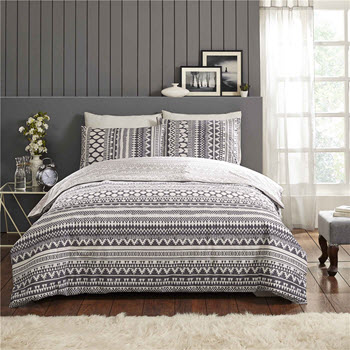 Park Avenue Esta Cotton Reversible Double Quilt Cover Set