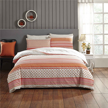 Park Avenue Aviana Cotton Reversible King Quilt Cover Set