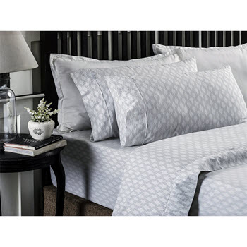 Style & Co 250 TC Printed Sheet Set Single Bed Marlo