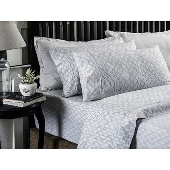 Style & Co 250 TC Printed Sheet Set Queen Bed Marlo