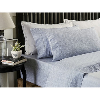 Style & Co 250 TC Printed Sheet Set Queen Bed Victoria